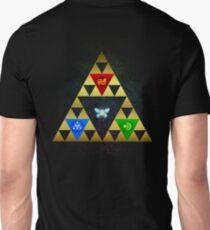 Legend of Zelda Triforce Navi Ocarina of Time T-Shirt
