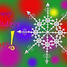 HAPPY HOLIDAYS BUT don't forget... by Ann Morgan