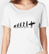 Surfing Evolution Women's Relaxed Fit T-Shirt