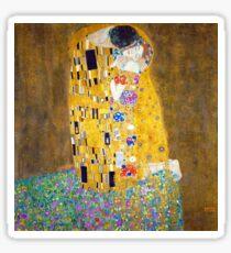 Gustav Klimt - Der Kuss Sticker