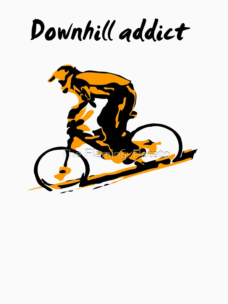 Downhill Addiction by FlamingPotato