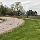 Dead Man's Curve on Route 66, Towanda, IL by swtrekker