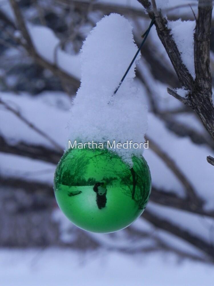 Snow Scene by Martha Medford