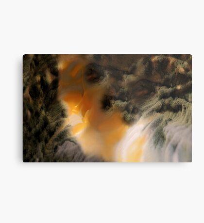 Amber river Metal Print