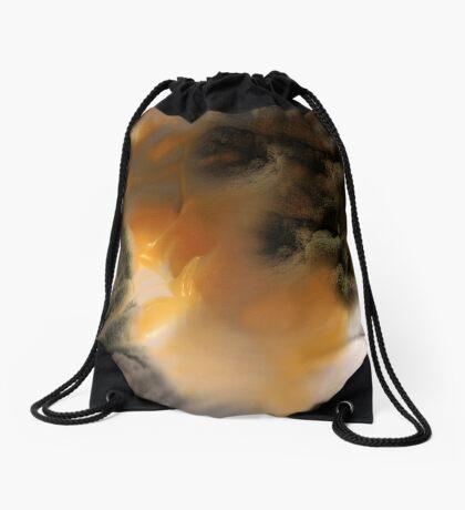 Amber river Drawstring Bag