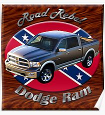 Dodge Ram Truck Road Rebel Poster