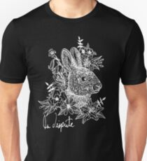 Rabbit Noir Unisex T-Shirt