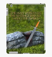 Ice - Ned Stark Quote iPad Case/Skin