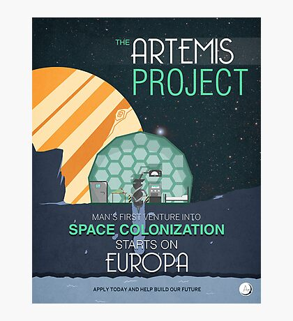 The Artemis Project Photographic Print