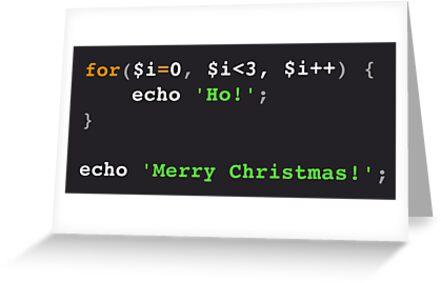 PHP Ho! Ho! Ho! Merry Christmas! by LarcusMywood