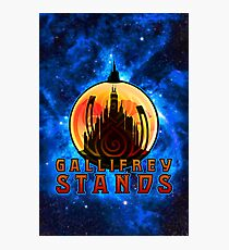 Gallifrey STANDS Photographic Print