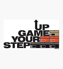 Step Your Game Up Sneakerhead by AiReal Apparel Photographic Print