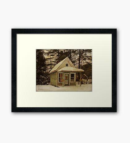 Summitville Post Office Framed Print