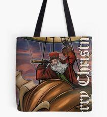 Steampunk Santa Claus Tote Bag