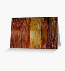 Nature's Abstracts Greeting Card