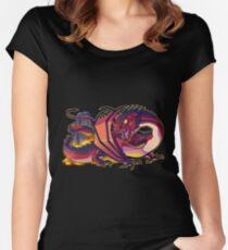 Smaug the terrible Women's Fitted Scoop T-Shirt