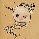 Baby Narwhal by LeaBarozzi