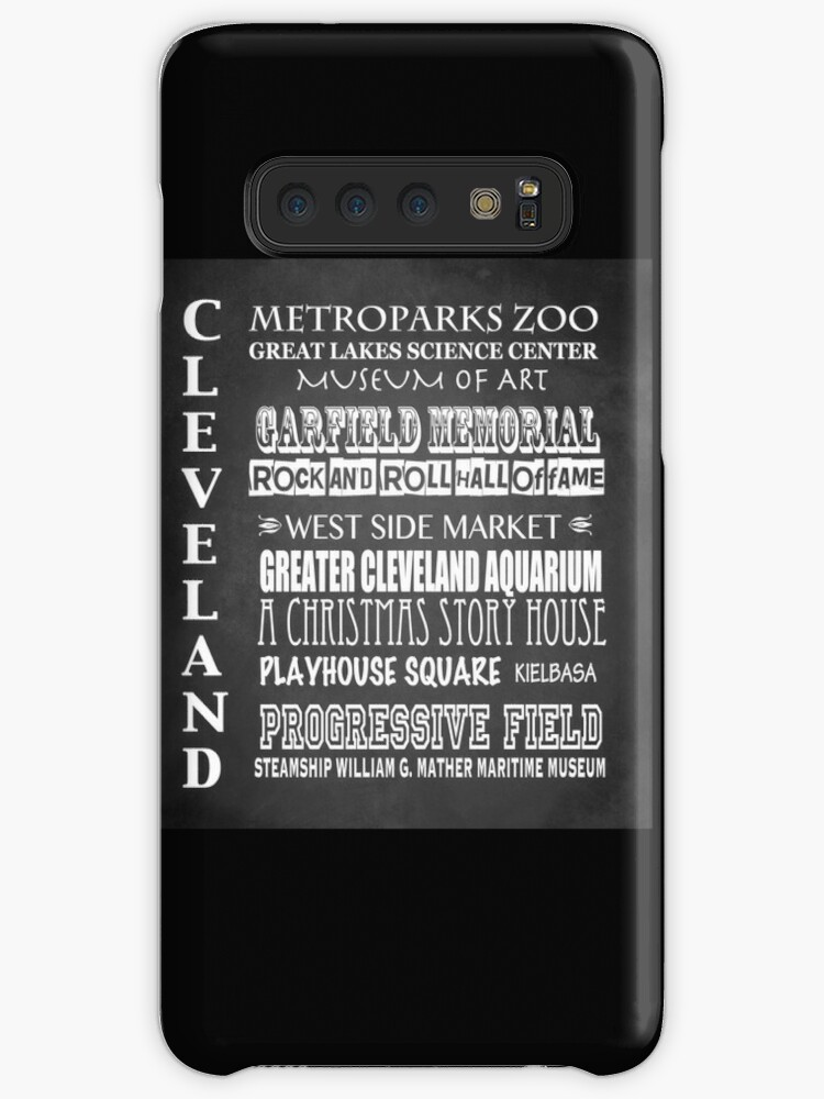 'Cleveland Ohio Famous Landmarks' Case/Skin for Samsung Galaxy by Patricia  Lintner