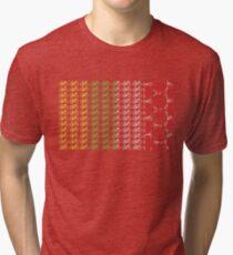 Bike Tour de France Jerseys (Vertical) (Small) Tri-blend T-Shirt