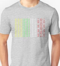 Bike Tour de France Jerseys (Vertical) (Small) T-Shirt