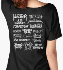 Heavy Metal-style Classical Composers Women's Relaxed Fit T-Shirt