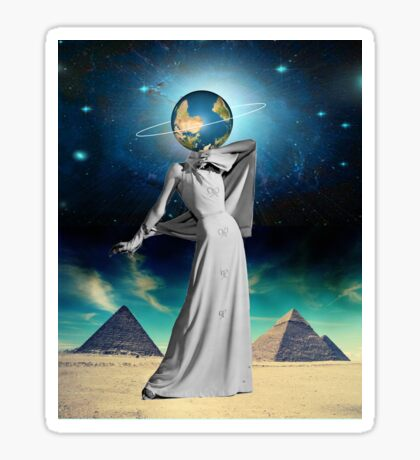 Goddess Giza Sticker