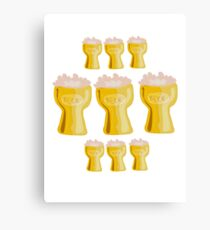 beer beer beer good Canvas Print