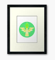 Wards are our Friends. Framed Print