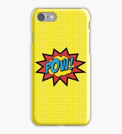 POW!!  iPhone Case/Skin
