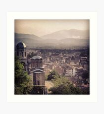 A Kosovo View Art Print