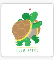 Two Slow Dancing Turtles In Love Sticker