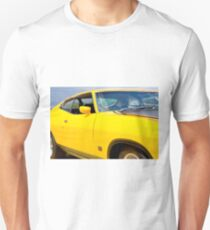 Yellow Ford XA coupe T-Shirt