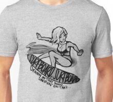 SURFBOARD. Unisex T-Shirt