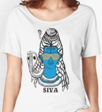 LORD SHIVA, COSMIC ROCKSTAR Women's Relaxed Fit T-Shirt