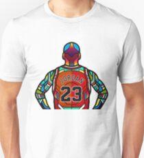 Michael Jordan - Stained Glass Unisex T-Shirt