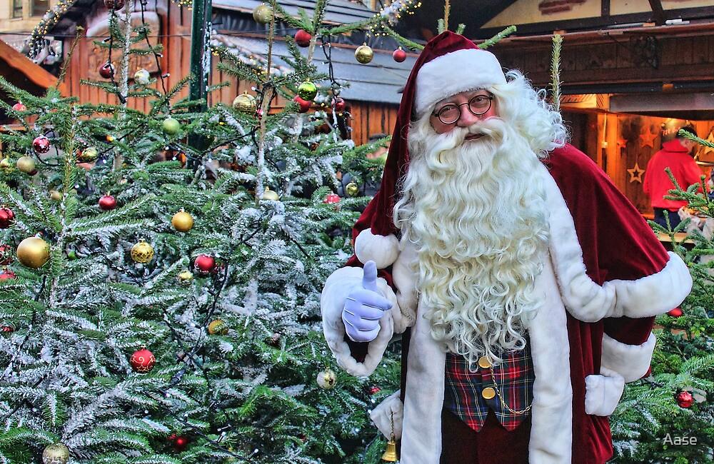 Santa Claus by Aase