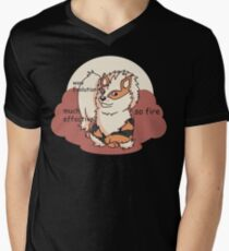Arcedoge Men's V-Neck T-Shirt