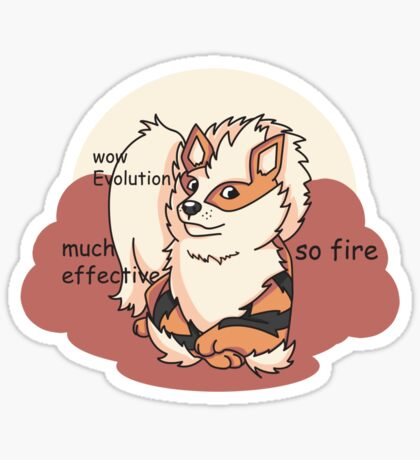 Arcedoge Sticker