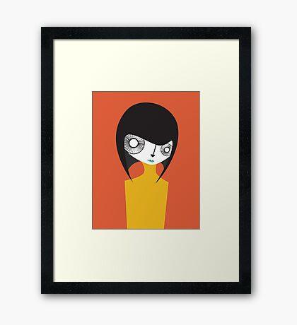 Nii Framed Print