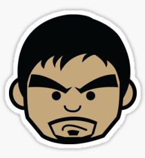 Angry Manny Pacquiao Face by AiReal  Sticker