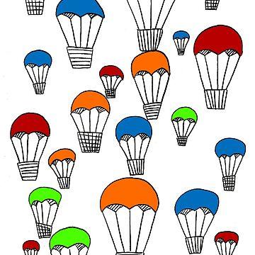 Hot air balloons by MichielvB