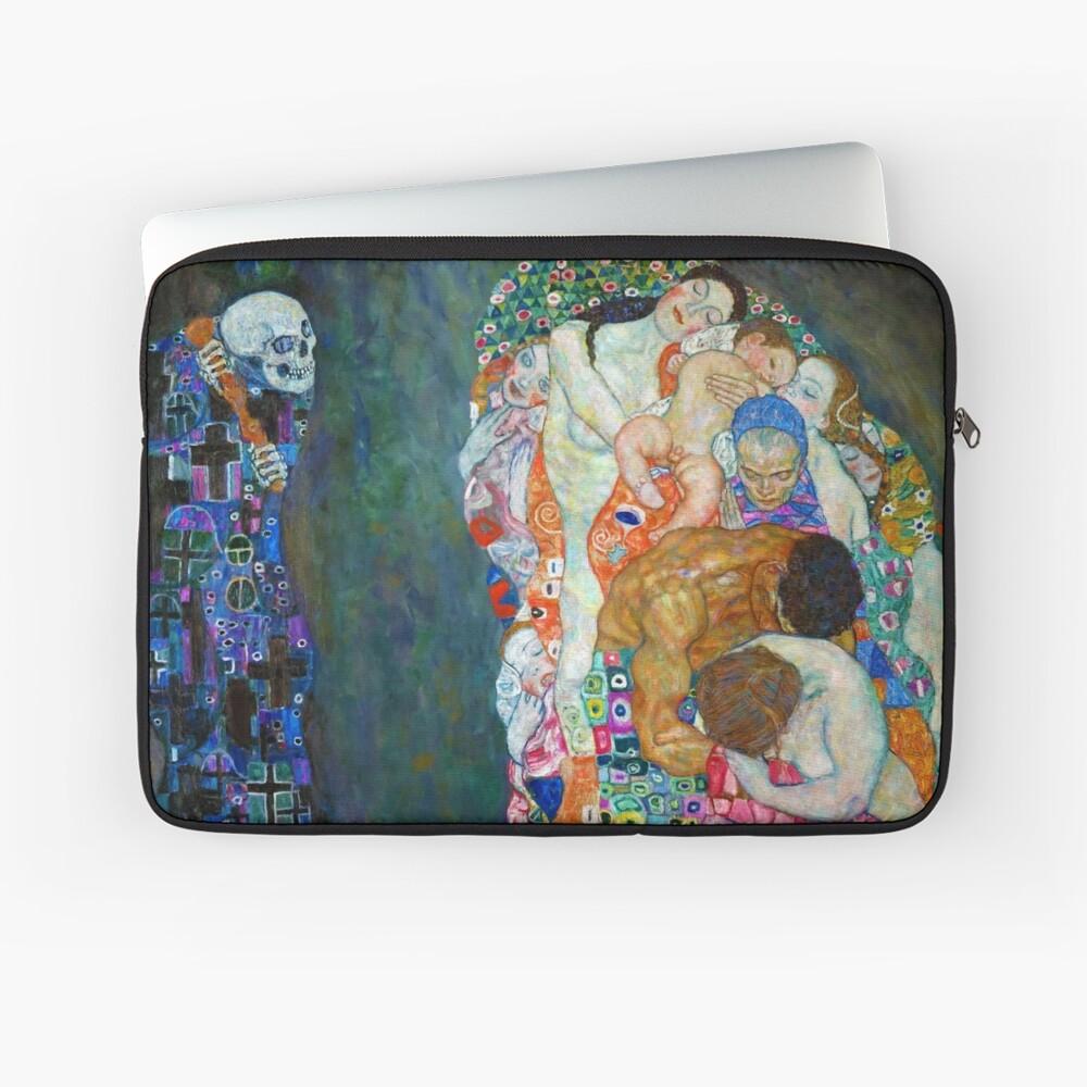 Gustav Klimt - Tod und Leben Laptoptasche