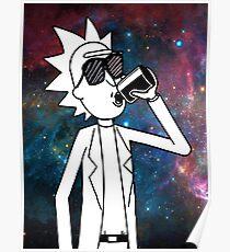 Rick Sanchez: Space Drunk  Poster