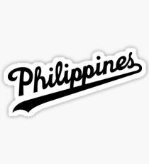 Philippinen Dodgers Script von AiReal Apparel Sticker
