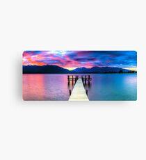 Lake Te Anau Sunset Canvas Print