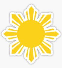 Philippine Sun von AiReal Apparel Sticker
