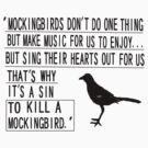 A sin to kill a mockingbird by silentstead