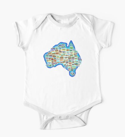 Pictorial Australia T-Shirt Kids Clothes