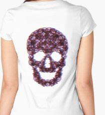 3D Skulls.....But Not Women's Fitted Scoop T-Shirt