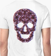 3D Skulls.....But Not Unisex T-Shirt